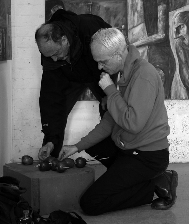 Roger Ballen master class Belfast Photo Festival 2013